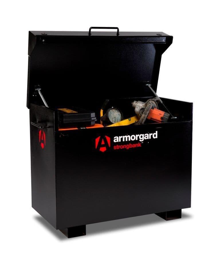 Armorgard Strongbank SB3 ultra strong secure site box.