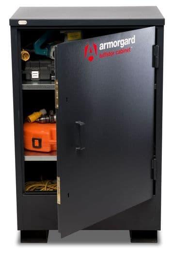 Armorgard Tuffstor Cabinets, ultra tuff storage.