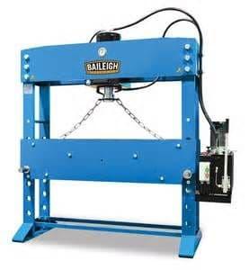 Baileigh HSP-110M workshop press