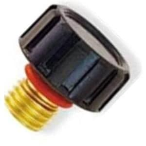 CK 200S Short back cap with O ring for 2 series Tig torch WP 9, 20 and 230 Part number 41V33