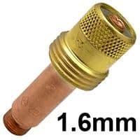 CK-3GL116  CK series 3 standard 1.6 mm Gas Lense Collet body 45v25