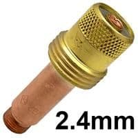 CK-3GL332  CK series 3 standard 2.4 mm Gas Lense Collet body 45v26