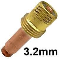 CK-3GL418  CK series 3 standard 3.2 mm Gas Lense Collet body 45v27