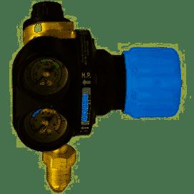 ESAB Edge 4 Series 10 Bar Oxygen Multistage Regulator, Bottom Entry (part no: 0700017183)
