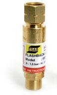 ESAB Flashback Arrestor FRT G 3/8 LH (fuel gas) Non resettable (part no: 0700016555)