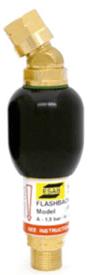 ESAB FR2000 G 3/8 LH Flashback Arrestor (fuel gas) High flow ~ resettable (part no: 0700016553)