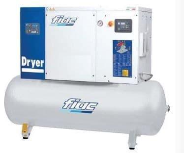 Fiac Silver D 15/300 15.0 HP, 270 Litre tank, 400V Screw Compressor