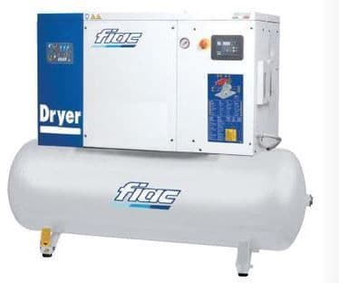 Fiac Silver D 20/300 20.0 HP, 270 Litre tank, 400V Screw Compressor