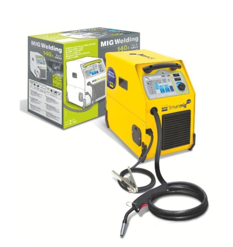 Gys Smartmig 142, Gas or no gas Automotive welder