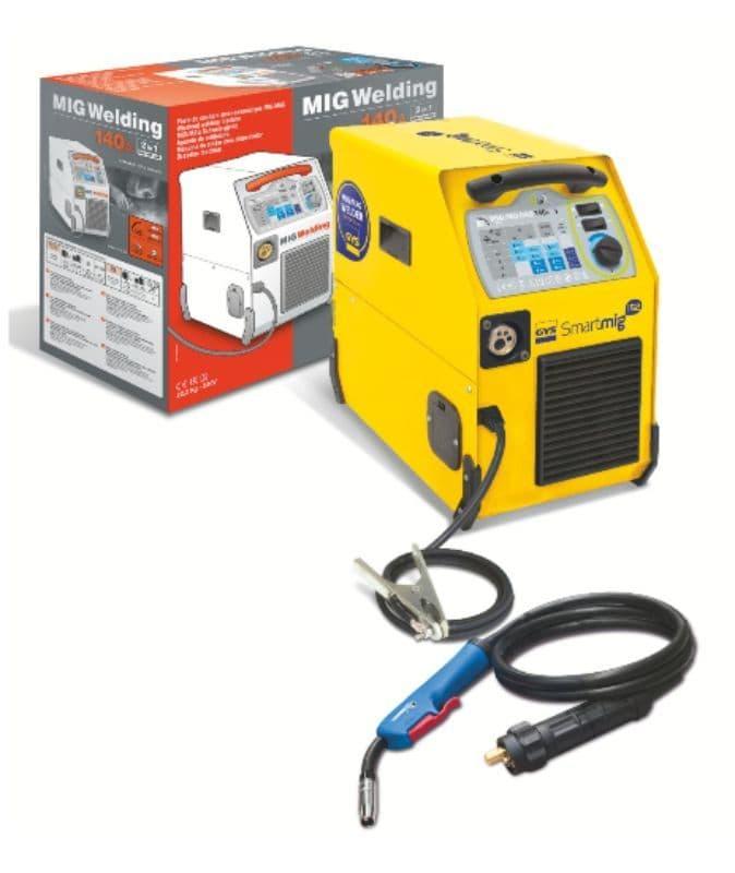Gys Smartmig 152, Gas or no gas Automotive welder