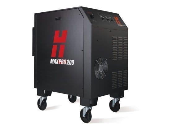Hypertherm MAXPRO 200 plasma cutter mechanised system