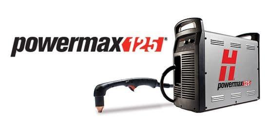 Hypertherm Powermax125 plasma cutting machines 57mm capacity
