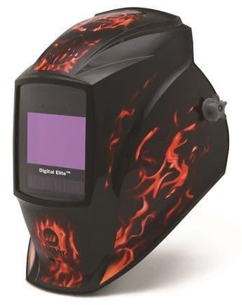 Miller Digital Elite Inferno light reactive auto welding head shield.
