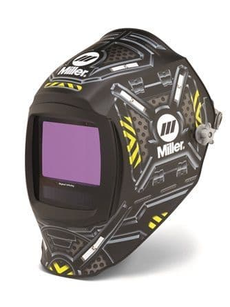 Miller Digital Inferno black Ops light reactive auto darkening welding head shield buy online from Wasp supplies ltd