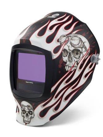 Miller Digital Infinity Departed light reactive auto welding head shield.
