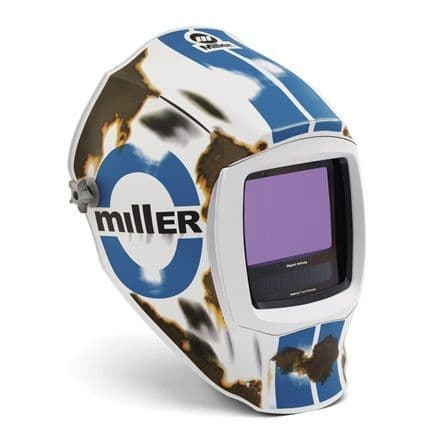 Miller Digital Inferno black Ops light reactive auto darkening welding head shield buy online from Wasp supplies ltd