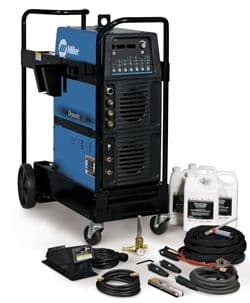 Miller Dynasty 400 AC/DC Tig Welder water cooled package