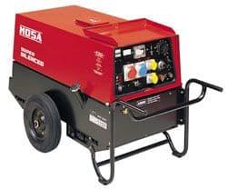 Mosa TS 300 KSK/EL  Air cooled Diesel, Super Silenced Welder generator.