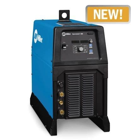 New Miller Syncrowave 300 AC/DC  TIG welder gas cooled package