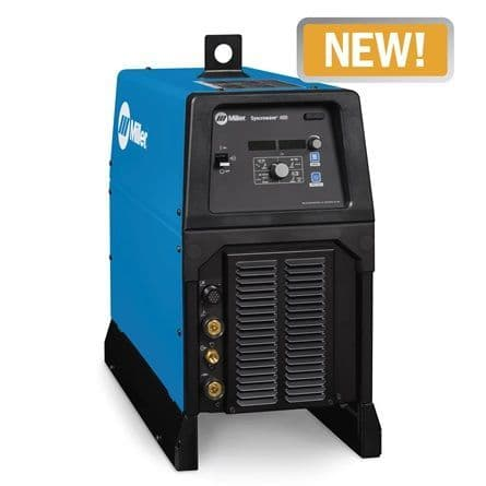 New Miller Syncrowave 400 AC/DC  TIG welder gas cooled package