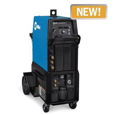New Miller Syncrowave 400 AC/DC  TIG welder  water cooled package