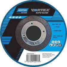 Norton vortex rapid blend discs for angle grinders