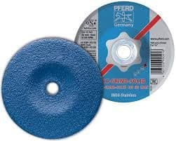 Pferd CC-grind-Solid 125 mm for Stainless steel, high stock removal grinding disc. Part no 900901