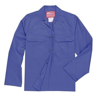 Portwest Bizweld (Royal Blue) Flame Retardant Jacket