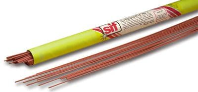 Sifredicote No1 1.6mm Flux coated Brazing rod