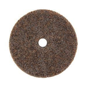 Surface sanding disc with hole (100x16)mm diameter Aluminium Oxide coated (COARSE) ~ Boxed in 10's