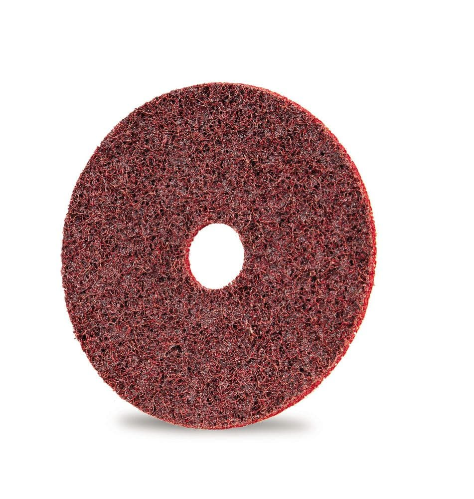 Surface sanding disc with hole (100x16)mm diameter Aluminium Oxide coated (MEDIUM) ~ Boxed in 10's