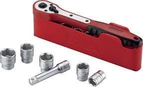 "Tengtools M1212N1 1/2"" Drive Socket set"