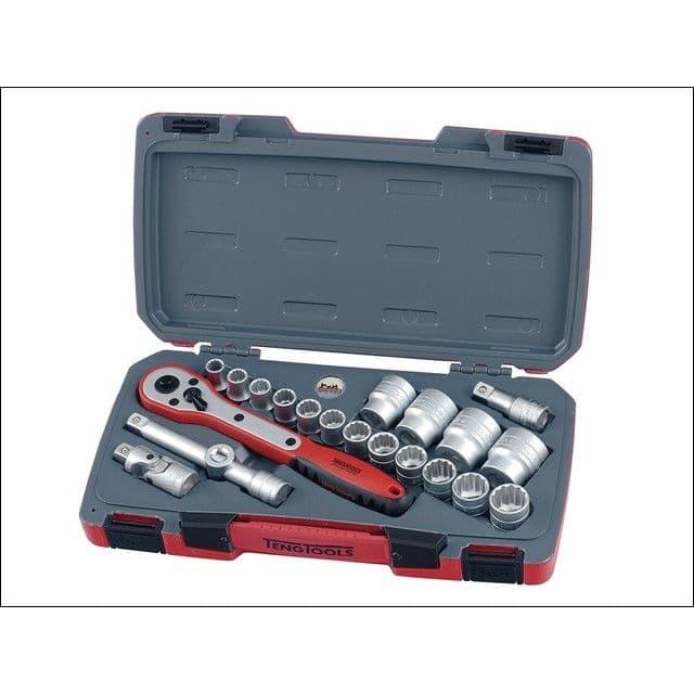 """Tengtools T1221 1/2"""" drive Socket set"""
