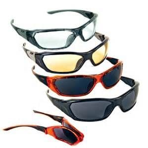 Virtually unbreakable JSP Forceflex Safety spectacles