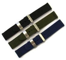 Nylon Heavy Duty Watch Strap