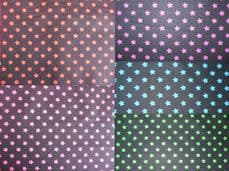 8mm Star Print 100% Cotton Fabrics
