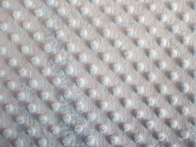 DIMPLE FLEECE SUPERSOFT FABRIC 100% POLYESTER PER 1 METRE BLUE