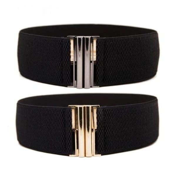 Belts Women's Fashion Elastic Stretch Belt  Modern Trendy Belt  Zabardo